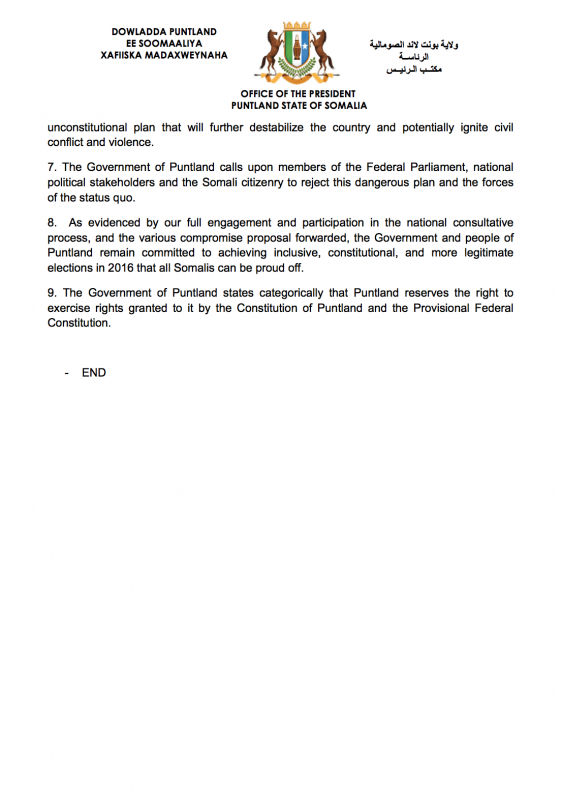 press-release-the-government-of-puntland-strongly-opposes-the-mogadishu-communiquc3a9-purporting-to-adopt-an-electoral-model-for-2016-2
